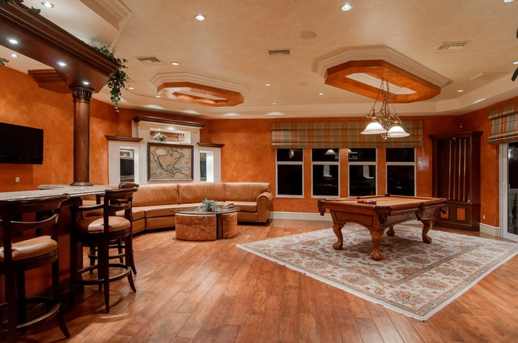 Man Cave Flooring Options – How bold are you?