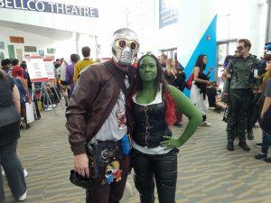 starlord and gamora