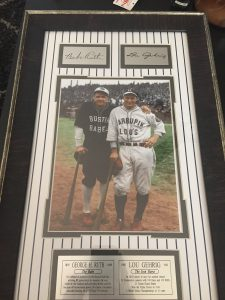 lue gehrig and babe ruth
